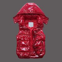 새로운 디자이너 브랜드 남자와 womenwinter 다운 조끼 고전적인 깃털 weskit 재킷 캐주얼 베스트 코트 외부 사이즈를 착용:XS-XXL MN