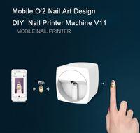 새해 2019 축제 살롱 승진을위한 네일 아트 프린터 가격 WIFI 기능 DIY 디지털 네일 아트 디자인 장비