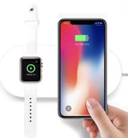 High Quality 2in1 Qi Wireless Charger for Apple Smartwatch i...