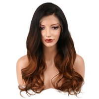 Free Shipping Ombre 1b 30# Color Brazilian Human Hair Full L...