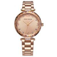 Mode Rose Gold Woman Diamond Crystal Horloges 2017 Merk Luxe Verpleegkundige Dames Jurken Vrouwelijke Vouwen Gesp Polshorloge Geschenken voor meisjes