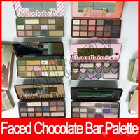 Faced Makeup Chocolate Bar Eyeshadow semi- sweet Sweet Peach ...