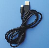 PS3 Denetleyici Aksesuarları Siyah Yüksek Kaliteli HIZLI GEMİ için Playstation 3 için Kablo Kordon Şarj 1,8m USB Güç Şarj Tel