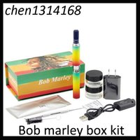 Bob marley box kit dry herbal vaporizer vape pens wax Dry he...