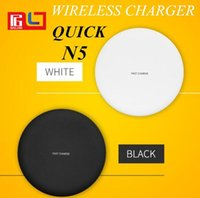 Fast Wilress Charger N5 Qi Wireless Phone Charger For Samsun...