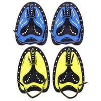 تدريب السباحة المجاذيف سيليكون مكفف اليد قفازات السباحة Padel زعانف الزعانف للبالغين والأطفال