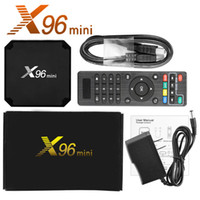 X96 Mini TV Box Android 7. 1 2GB 16GB Amlogic S905W Quad Core...