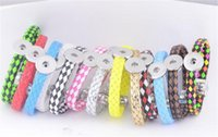 Leather Bracelets Noosa Bracelets Ginger Snap Jewelry Interc...