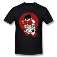 Boy Hajime No Ippo Maglietta Fighting Spirit Voting On Qwertee Maglietta Retro T Shirt 100% cotone