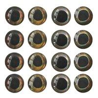 Fiske ögon tackla tillbehör 3-10mm Fiske locka ögon 4d holografiska ögon DIY flyga binder jigs hantverk docka