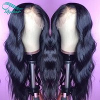 Bythair Human Hair Lace Wig Natural Wave Pre- plucked Hairlin...