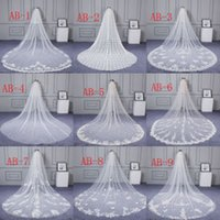 Wholesale 2018 Long Veils Soft Tulle Bridal Veil Wedding Vei...