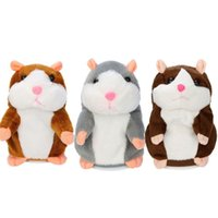 2018 Talking Hamster Mouse Pet Plush Toy Learn To Speak Elec...