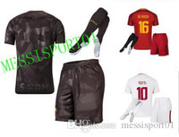 top quality 17 18 Rome men TOTTI DE ROSSI home AWAY THIRD so...
