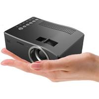 Full HD 1080P Unic UC18 Главная Театр светодиодный мультимедийный проектор Cinema TV HDMI Black EU Home Projector HDMI Projector DHL бесплатно