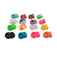 10 X Contenitori Dab Silicone antiaderente colorato G Contenitori in silicone da 2 ml
