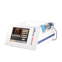 Dispositivo de terapia de ondas de choque Protable para ortopedia / máquina de baja intensidad acústica radial ESWT para disfunción eréctil
