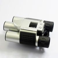 Freeshipping 4 in 1 Binoculars Digital Camera Digital Video PC Camera Telescope 300K Pixels CMOS Sensor