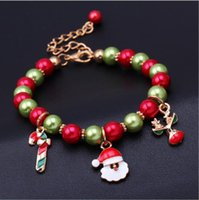 women girl fashion bracelets The new Santa Claus reindeer br...