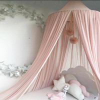 Elegant Baby Bed Canopy Round Mosquito Netting Curtain for K...