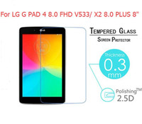 "For LG G PAD 4 8. 0 FHD V533  X2 8. 0 PLUS 8"" Tempered Gl..."