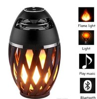 Led Flame Lights with Bluetooth Speaker Outdoor Portable Led...