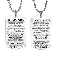 Family Necklace To Kids Daughter I Want You To Believe Love ...