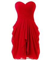 2018 сексуальная возлюбленная длина колена a-line Plifet платья выпускного вечера с шифоновым шнуровке вверх плюс размер платья для вечеринок формальные платья Vestido de Festa BP02