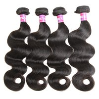Natural Brazilian Hair Body Wave With Closure 12~26in Brazil...