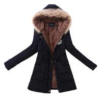 b81fb60b4845 Neue Herbst Winter Frauen Jacke Baumwolle Gepolsterte Beiläufige Dünne  Mantel Emboridery Mit Kapuze Parkas Plus Größe 3xl Wadded Mantel