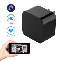 TBT 1080P WIFI Mini Camera USB Wall Charger Camera with Moti...
