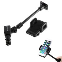 Double USB Car Cigarette Lighter Mount Auto Charger Holder F...