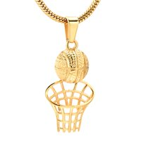 Cremation Necklace for Ashes Stainless Steel Basketball Memo...