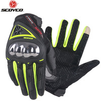 SCOYCO Motorcycle Gloves Summer Breathable Wearable Protecti...