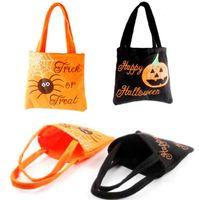 Хэллоуин фестиваль украшения нетканые дети дети подарок мешок конфет Хэллоуин реквизит сумка Бесплатная доставка LX3723