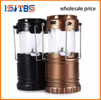 FREE Portable Outdoor LED Camping Lantern Solar Collapsible ...
