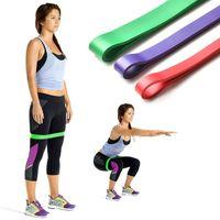 "12 ""Widerstandsbänder Naturlatex Expander Power Yoga Rubber Loop Band"