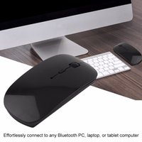 Freeshipping портативный аккумуляторная Bluetooth 3.0 Gaming 1200 DPI регулируемая беспроводная мышь для ноутбука PC таблетки компьютерная мышь VML-09