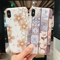 Phone Case For iphone X Lattice And Flower Mobile Phone Case...
