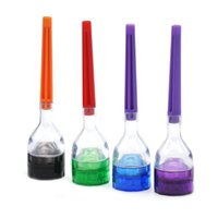 Cone Artist Multi-function Funnel Plastic Grinder 3 Parts Tabacco Herb Spice Crusher Hand Cracker Muller con cono Roller