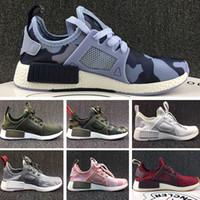 sale retailer ba833 cbe87 Adidas NMD XR1 2018 R2 XR1 Zapatillas Running Mastermind Japan Skull Fall  Verde oliva Camo Glitch