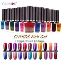 CNHIDS 10ML Temperature Change Color Thermal Gel Polish UV L...