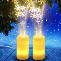 Hot sale new candle light projection lamp 3AA battery remote...