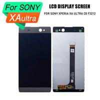Sony xperia XA ultra için son PrepairP lcd lcd ekran sayısallaştırıcı dokunmatik meclisi Sony Xperia XA Ultra C6 F3212