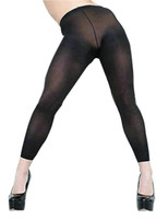 Women' s Sexy See Through Sheer Mesh Long Pants Legging