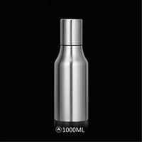 1000ML Stainless Steel Olive Oil Dispenser Leak- proof Oil Bo...
