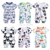 Baby boy Unicorn Jumpsuit cotton comfortable baby clothing o...
