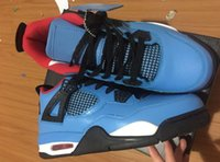 New Hot TRAVIS X 4 CACTUS JACK UNIVERSITY BLUE BLACK Houston...