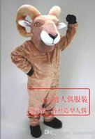 2018 High quality goat mascot costume adult size factory cus...