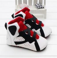 Moda PU cuero recién nacido bebé niño niña bebé zapatos suaves Suela suave zapato antideslizante